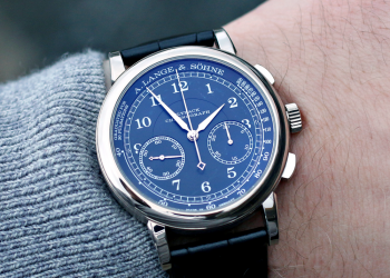 Omtale: A. Lange & Söhne 1815 Chronograph WG