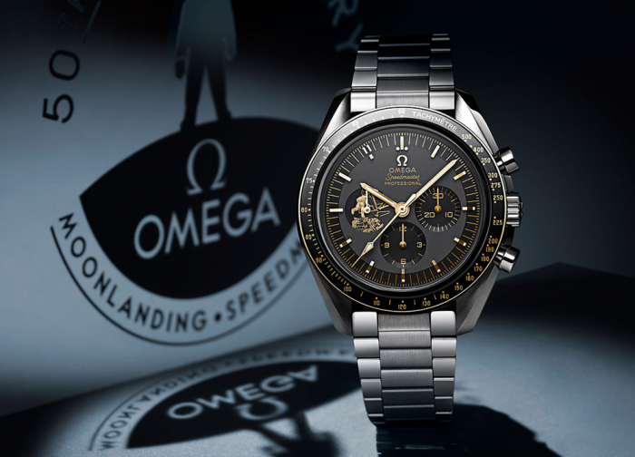 "Omega Speedmaster ""Apollo 11 50th Anniversary LE"""